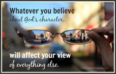 How does theology affect your vision?