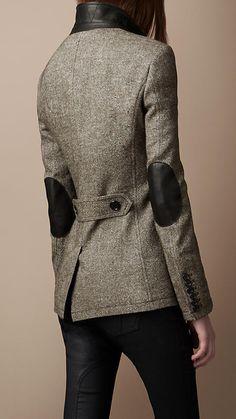 Burberry Brit - Elbow Patch Jacket