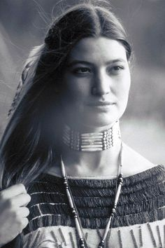 Native American actress and model Brandon Merrill