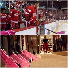 Detroit Red Wings 10/12/13 Hockey Fights Cancer
