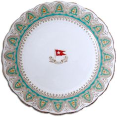 dinner plates, gothic arch, titan dinner, first class dinners, white star