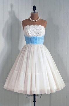 1950's bride Madge's dress
