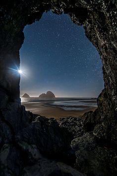 Tunnel Vision, Oregon, USA.