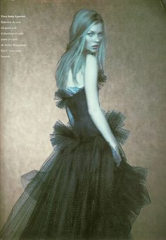 Kate Moss/ Vogue Paris March 1994 / Paolo Roversi