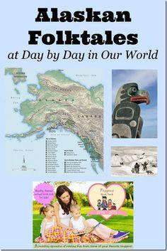 Alaskan Folktales ~ Poppins Book Nook May 2014 post