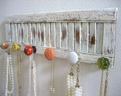 Jewelry hanger>>i really like this one