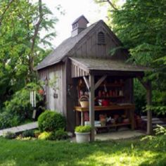 A garden shed I want to build
