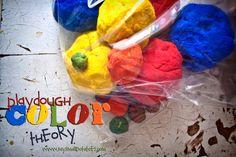 Playdough Colour Theory
