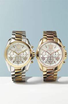 """Oh these Michael Kors """"Bradshaw"""" watches are beautiful"""