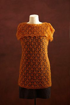 Ravelry: New Lace Tunic free crochet pattern - easy level and finished in a flash!!