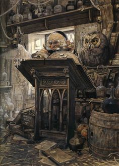 Jean-Baptiste Monge, illustrateur ( Fairy tale)