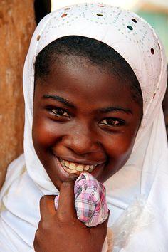 Happy Child Of Ghana