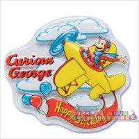 Curious George Cake Decorating Kit : Curious George Birthday Party Ideas, Decorations, and ...