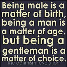 ...a matter of choice.
