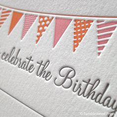 birthday invite - need to find a local letterpress