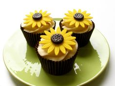 cupcakes sunflower - Google Search