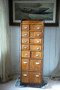 $1425 wow nice shape and style card catalog, early 1900s