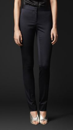Burberry - Stretch-Wool Tailored Trousers