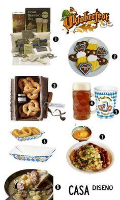 Man Cave Essentials: Celebrating Oktoberfest #oktoberfest #decorating #recipes #entertaining #partyidea