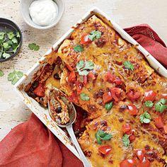 20-Minute Chicken Enchiladas Recipe | MyRecipes.com Mobile