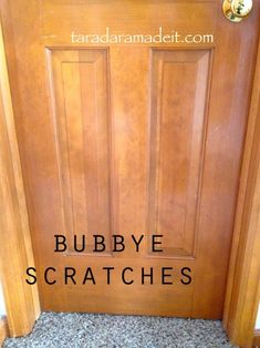 Save money and time!  You don't have to sand and re-stain your cabinets or wood, check out this amazing secret!