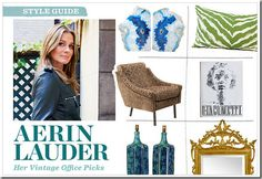 Aerin Lauder Vintage Picks Teak Base Drip by theenchantedfigtree, $979.00