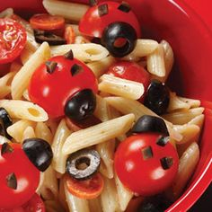 summer picnic, pasta salad, picnic side, side dish, kid