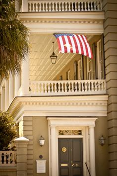 Double decker porches, southern charm, Americana.
