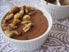 George & Juli's Chocolate Mousse with Cinnamon Sauteed Bananas is AMAZING @paleomg @civilizedcaveman