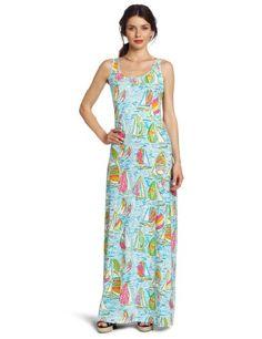 Lilly Pulitzer Women's Treena Scoop Neck Dress, Multi You Gotta Regatta, X-Small  $128.00