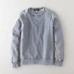 steve alan / levi's vintage -1950s crew sweatshirt