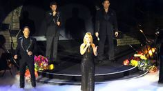 Il Divo in Moscow 12Sep2014. Somebody to Love with Mazz