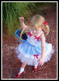 Wizard of Oz Inspired Dorothy Tutu