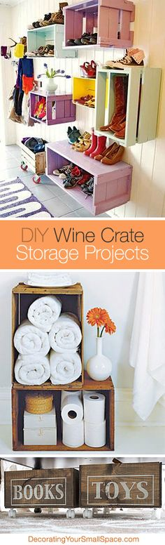 DIY Wine Crate Stora