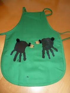Bear Handprints (from a future #Baylor Bear?)