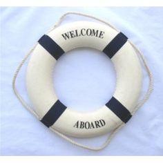 Nautical Life Preserver Ring