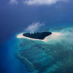 """Heart island""/ Mnemba Island, Tanzania"