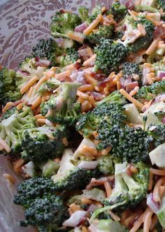 "This ""Skinny Mom, Skinny Broccoli Salad"" is super easy to prepare and absolutely delicious!"