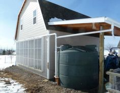 2500 gallon rain water collection system