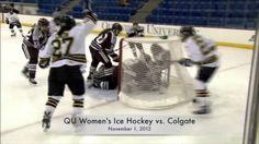 QU Women's Ice Hockey 2013-14 Highlight Video: http://youtu.be/6-XK5L4gZAU