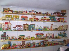 Fisher Price Little People mother lode!