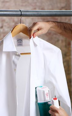 Don't let a few wrinkles ruin your sharp look. Here are 5 ways to keep your dress shirt crisp: http://birch.ly/1loyIR8