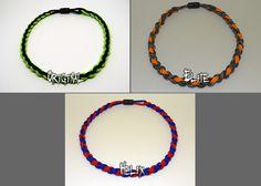 Baseball Neckaces / TWiSTED BRAiDS \ Paracord Bracelets - Necklaces - Wrist and Neck Lanyards