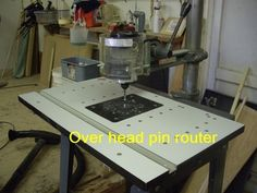 Overarm Pin Router