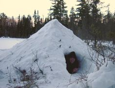Winter Camping Shelters