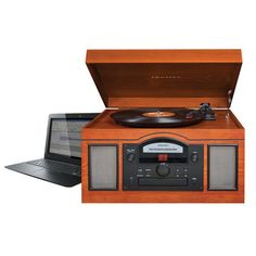 The Archiver Turntable (in Paprika) by Crosley Radio allows you to rip and edit your records directly to digital audio format. Pretty slick. #records #music #gadgets #technology #throwback