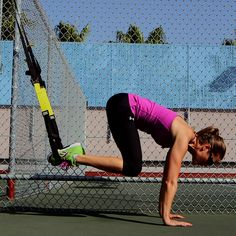 FitSugar: 3 TRX Moves to Strengthen Your Core - Pike, Tuck and Standing Oblique Crunch (1/10/13, 2 mins)