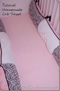 Tutorial for making crib sheets