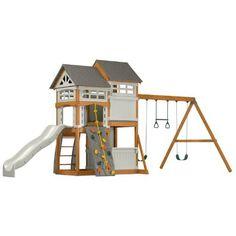 Suncast Vista Outdoor Play Set - resin/wood playset $1537
