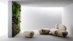 Sofa 'BOTAN'   Benedetta Tagliabue for Passoni Nature   Archinect